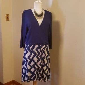 Leota skater dress. Size XL